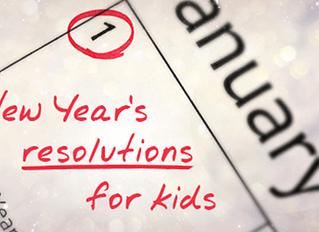New Year's Resolutions for Kids