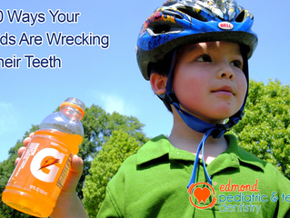 10 Ways Kids Wreck Their Teeth