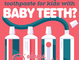What's the Right Toothpaste for Kids with Baby Teeth?