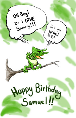 sammy's birthday 2011