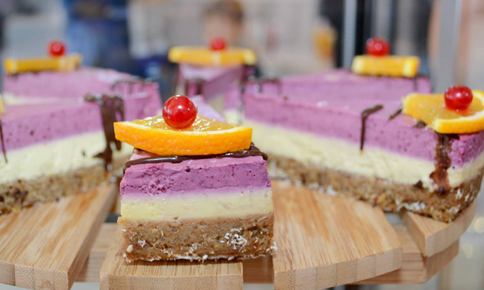 Gâteau Raw