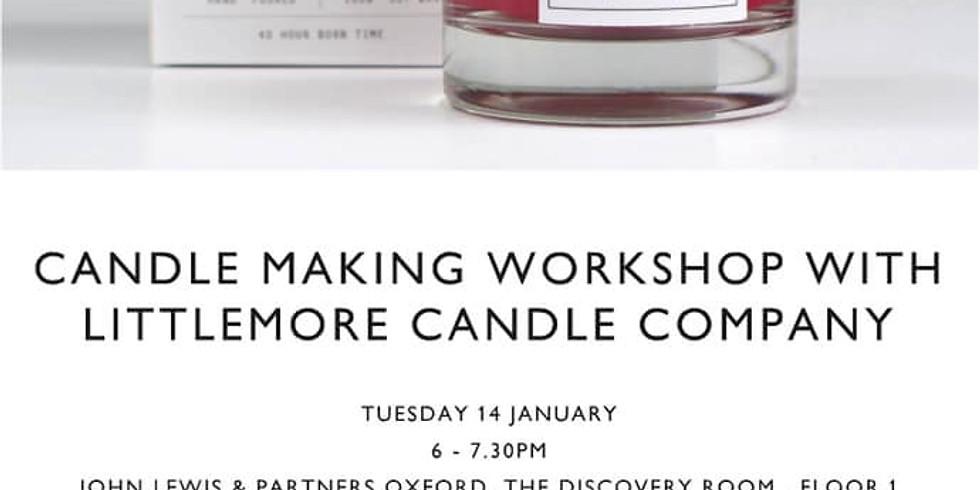 John Lewis Candle Making Workshop