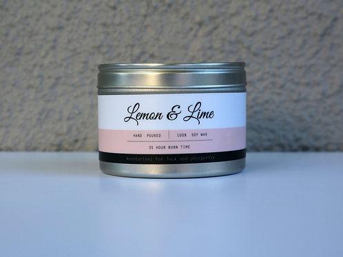 Lemon & Lime Candle Tin
