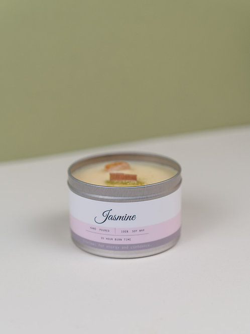 Jasmine Candle Tin