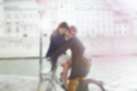 Couple amoureux - faire-part mariage bourgogne lohraza