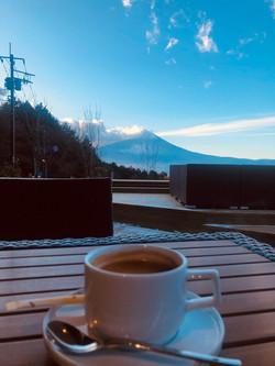 富士山&コーヒー