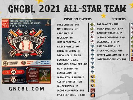 Congratulations - 2021 GNCBL All-Star Team