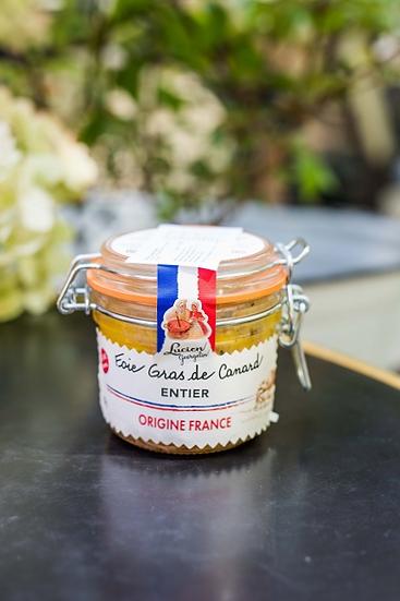 Foie gras z kaczki w całości