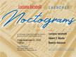 Luciano Iacobelli and Deborah Barnett launch Noctograms