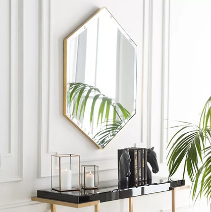 Зеркало 6-угольное на основе 01-00268