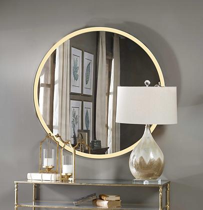 Зеркало в круглой раме 01-00286