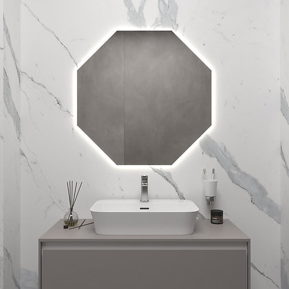 Зеркало с внешней подсветкой 01-00248