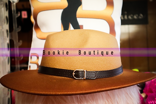 Two Tone Brown Fedora