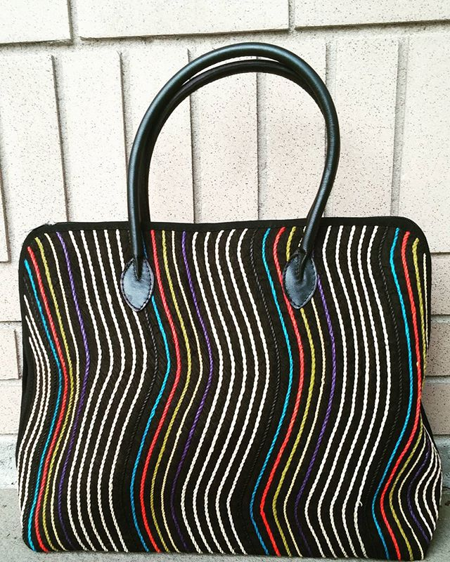 #Elegant #ecofriendlyfashion #Handbag. Made from #Barkcloth in Uganda. #womensfashion #womenempowerm