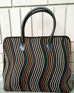 #Elegant #ecofriendlyfashion #Handbag. Made from #Barkcloth in Uganda. #womensfashion #womenempowerm