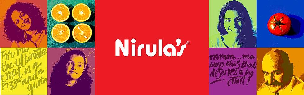 Nirula's Brand Graphics Environment Graphics Sub Brand Logos Take away packaging Signage Condiment Packaging