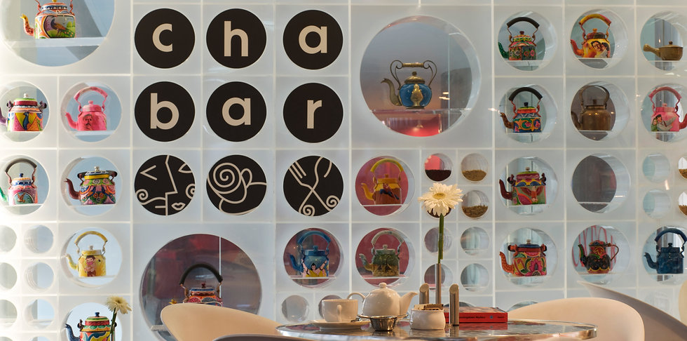 cha bar coffee design