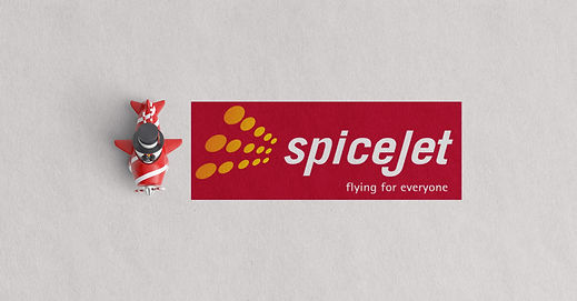 SpiceJet Brand name Identity Aircraft livery Graphics Airport Signage Tansport Graphics Brand Imagery Advertisments Web Design