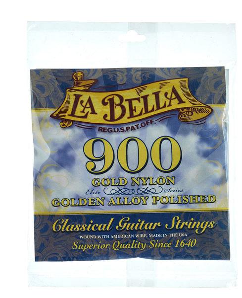 La Bella 900 Elite Gold Nylon
