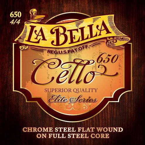 La Bella Cello 650 strings (4 strings)