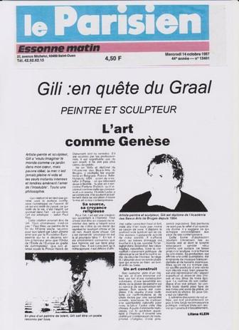"""""""L'art comme Genèse"""""""