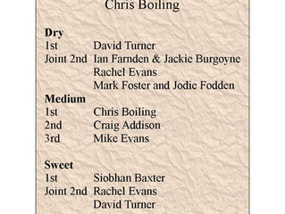 Cider Competition 2018