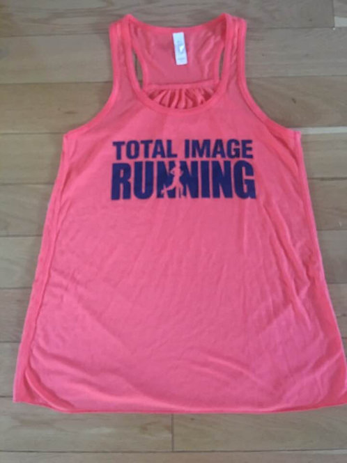 CORAL Flowy Racer Back Tank