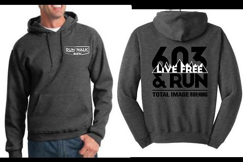 RUN WALK BREW / 603 Vintage Sweatshirt