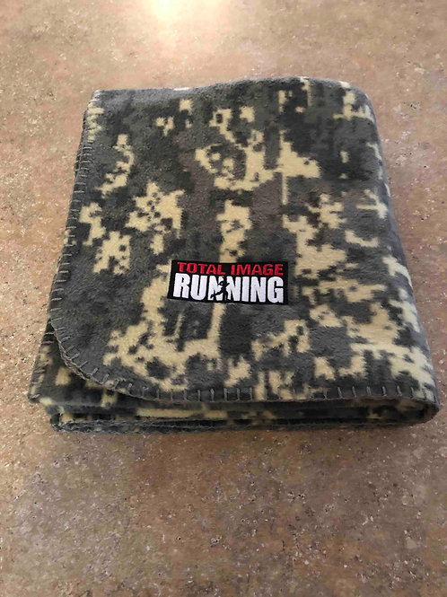 Camo Fleece Throw Blanket