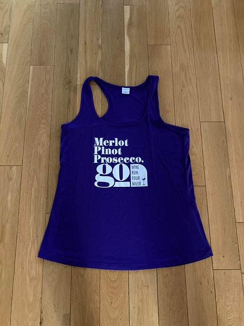 2020 Wine Run 4 Miler Women's Tank
