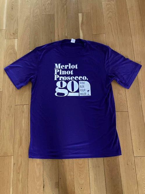 2020 Wine Run 4 Miler Men's T-Shirt