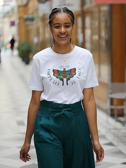 """T-shirt """"Comme Lui Je Vole"""""""