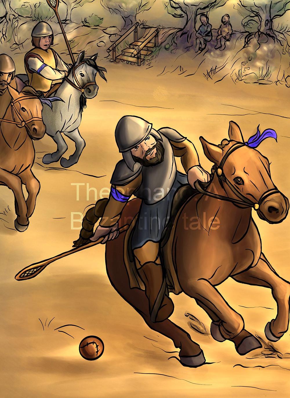 Το τζυκάνιον (σημερινό πόλο επί ίππου) ήταν δημοφιλές σπόρ των αριστοκρατών στα Βυζαντινά χρόνια