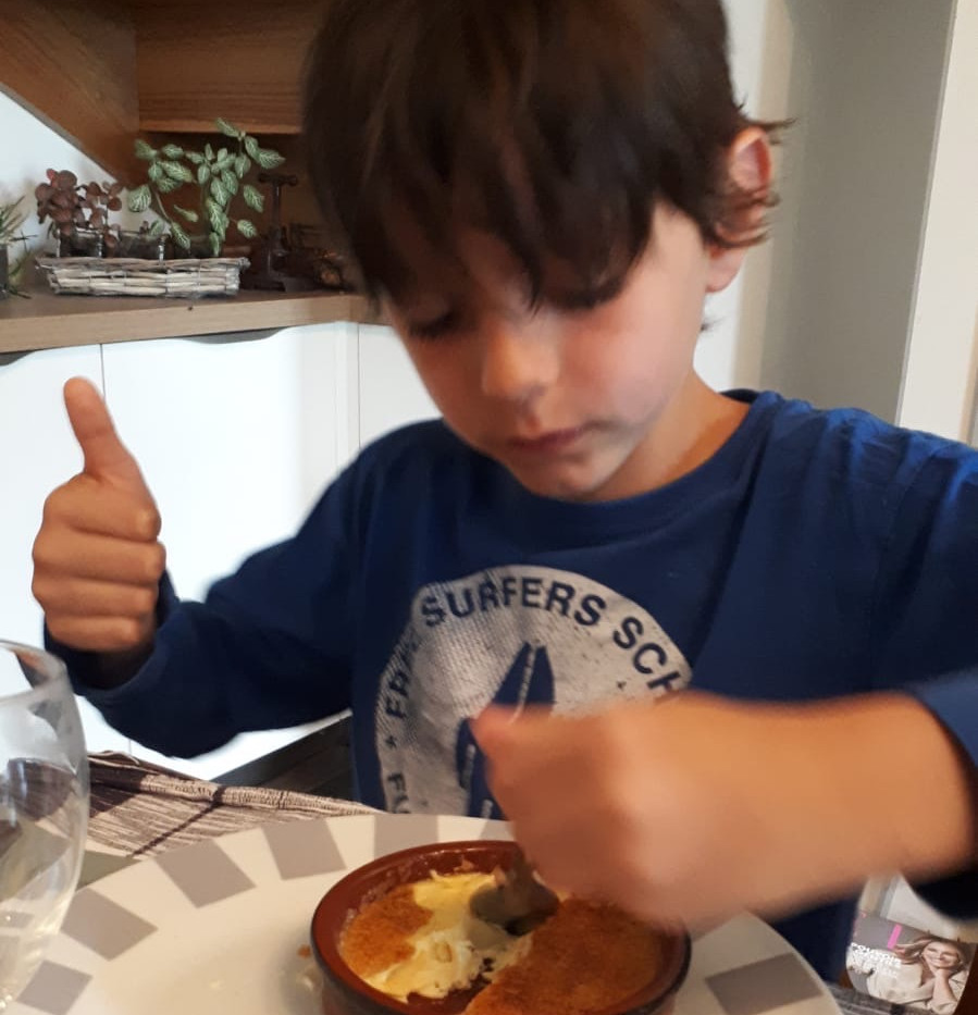 Basile et sa crème brûlée