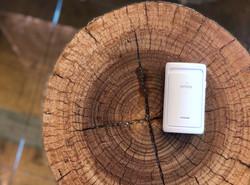 ionizo on the wood