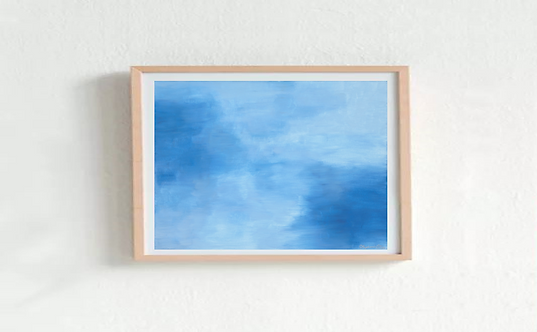 Painting - Cloudy Days