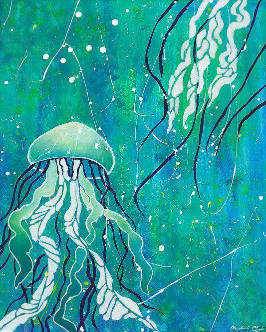 Painting - Submerged