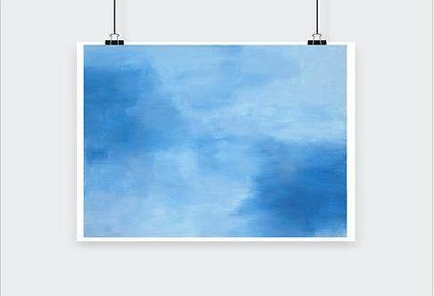 Print - Cloudy Days