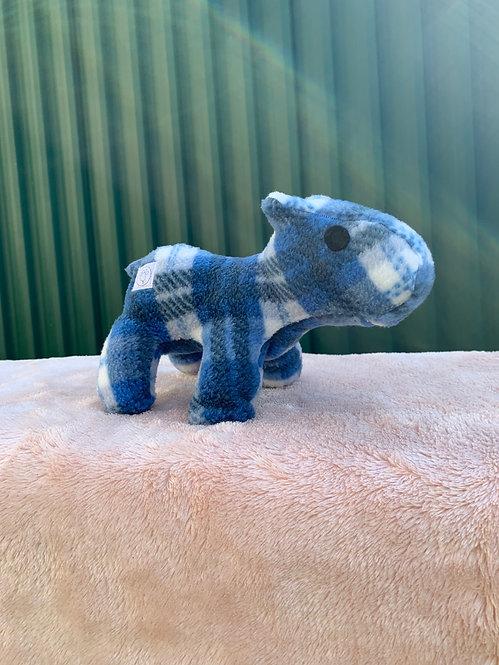 Harry Hippo in Tartan