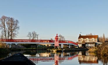 Moulin rouge en automne