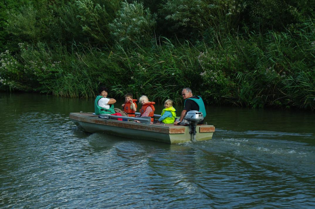 Location de barque en famille