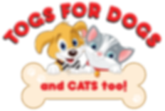 Togs For Dogs and Cats too! Logo