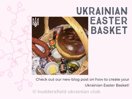 Ukrainian Easter Basket