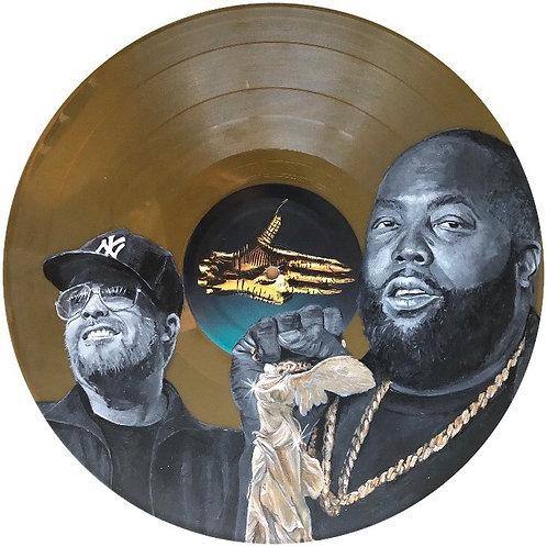 Run The Jewels  - Vinyl Art