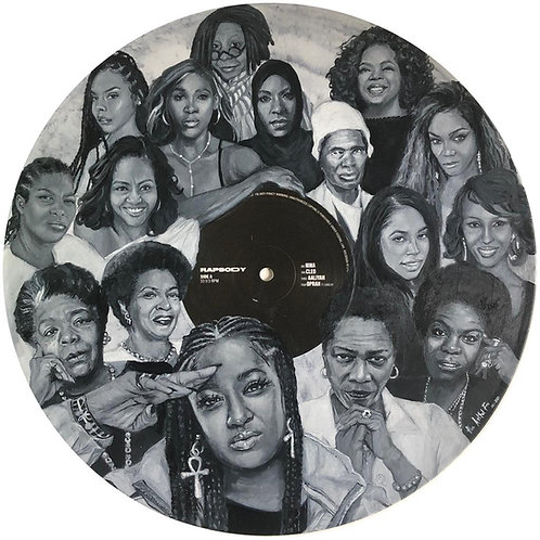 Rapsody -  Vinyl Art