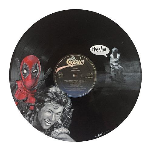 Wham - Vinyl Art