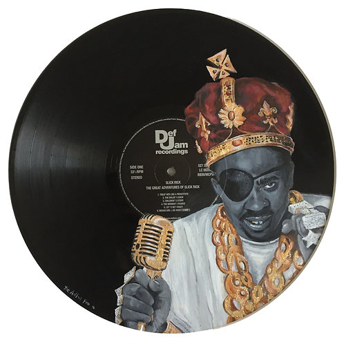 Slick Rick - Vinyl Art