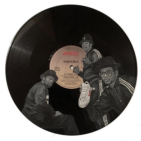 Run D.M.C - Vinyl Art