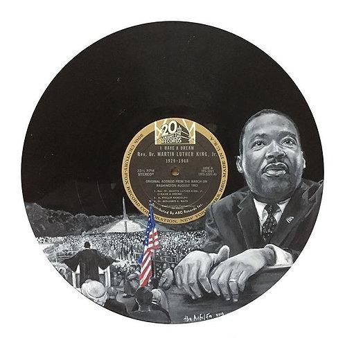 Martin Luther King Jr. - Vinyl Art