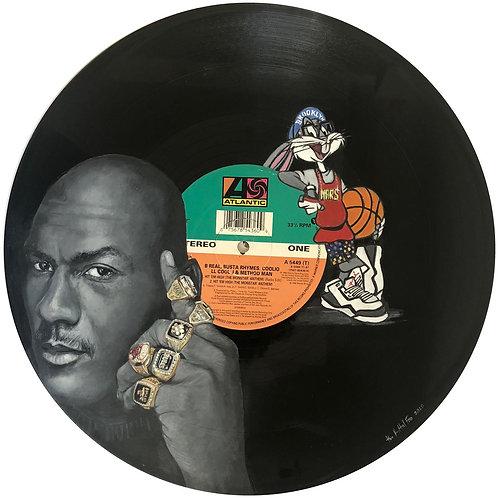 Michael Jordan - Vinyl Art